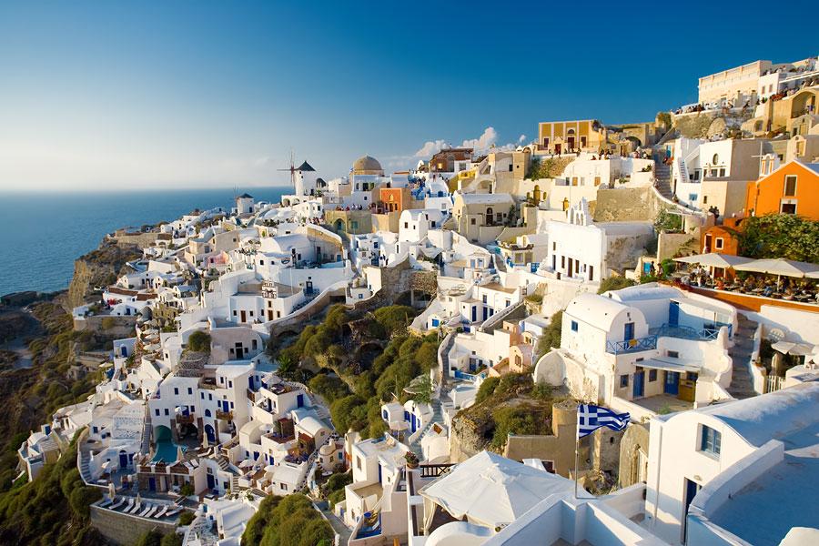 Лучшее время для поездки в Грецию