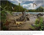 Доисторические ящерицы могли бегать на двух ногах