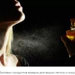 Пары от распылителей и парфюмерии являются основным источником загрязнения воздуха