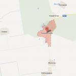Расположение заповедника Аскания-Нова