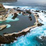 Природные бассейны в Порту Мониш