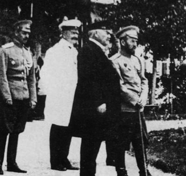 Фридрих Фальц-Фейн и Николай II