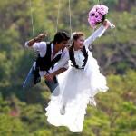 Проведение интересного и оригинального свадебного торжества