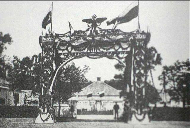 Триумфальная арка для Николая II