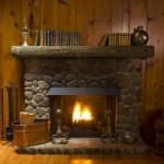Камины в деревянном доме не только для аристократов